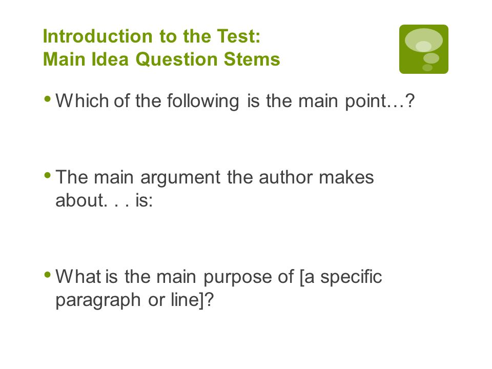 ACT Reading Preparation For Use In Social Science Ppt