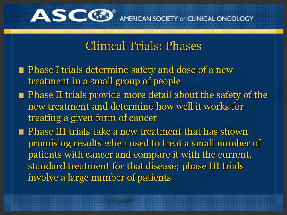 Clinical Trials: Phases