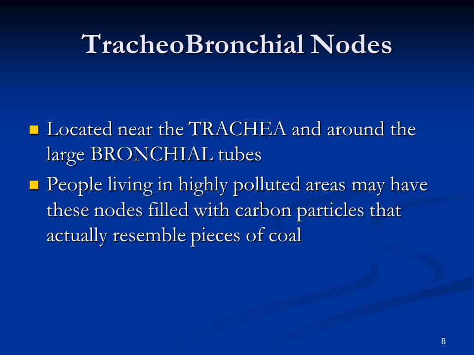 TracheoBronchial Nodes