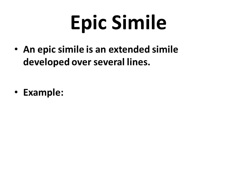 homeric simile examples