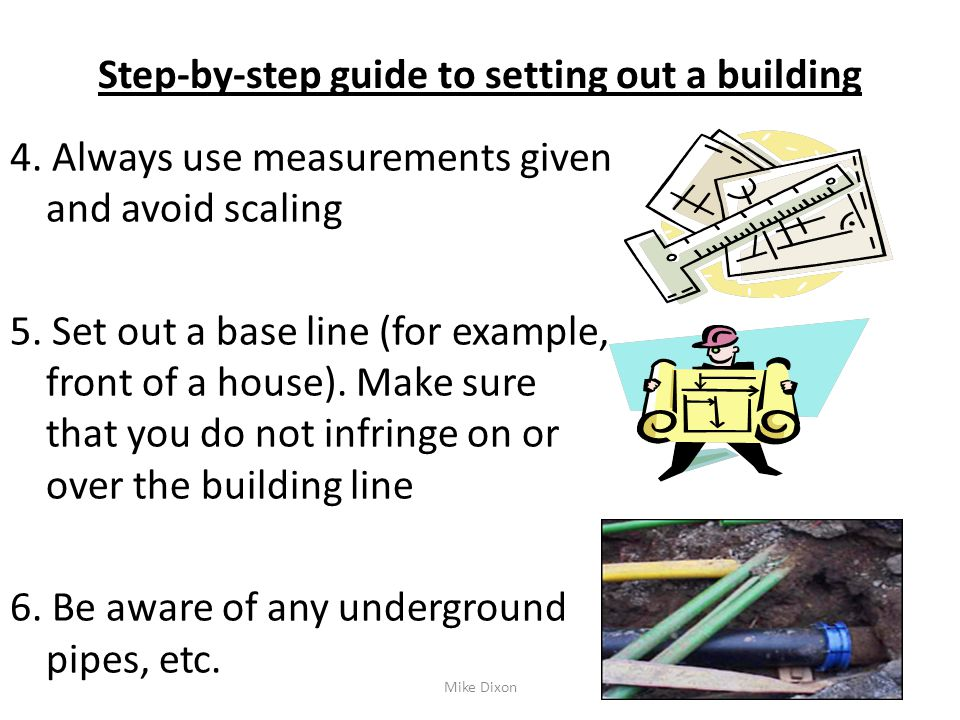 Set out masonry structures ppt video online download for Step by step in building a house