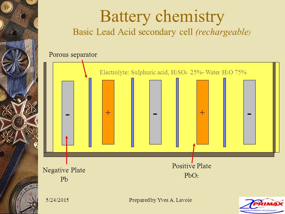 Battery Chemistry Basic Lead Acid Secondary Cell Rechargeable on Lead Acid Battery Charger Circuit