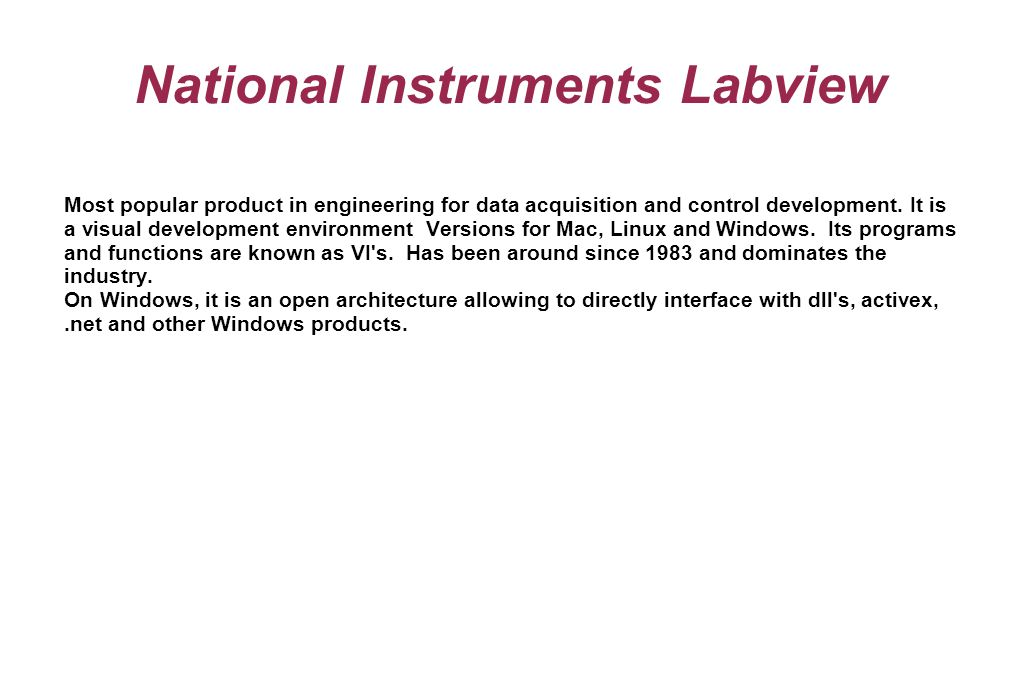 Labview Download Mac