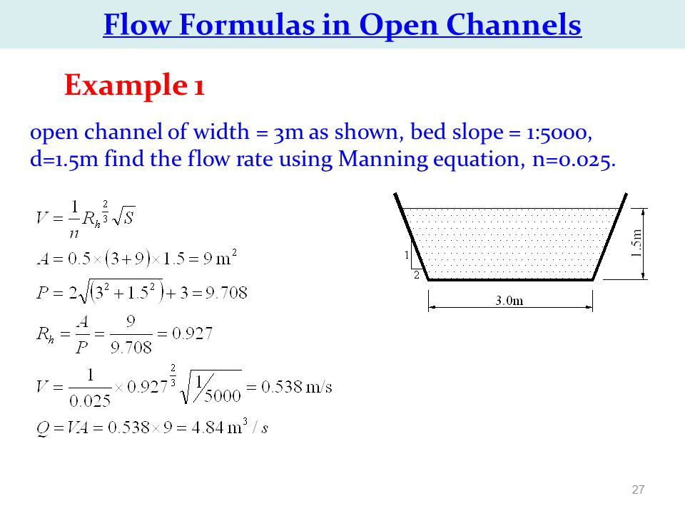 CHAPTER 6: Water Flow in Open Channels - ppt video online download