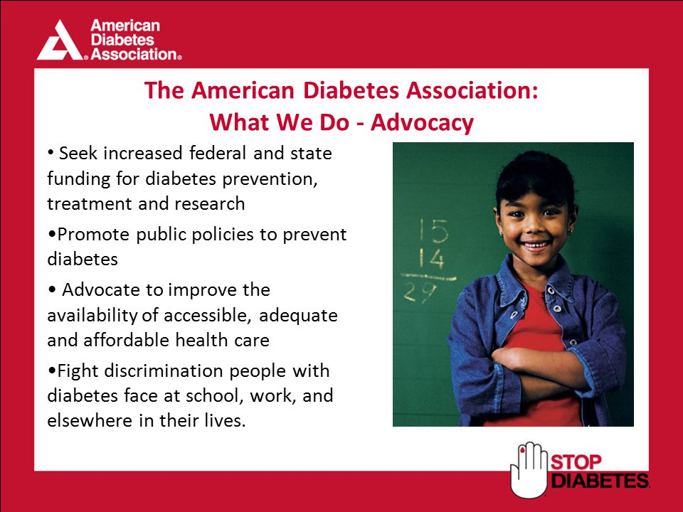 The American Diabetes Association:
