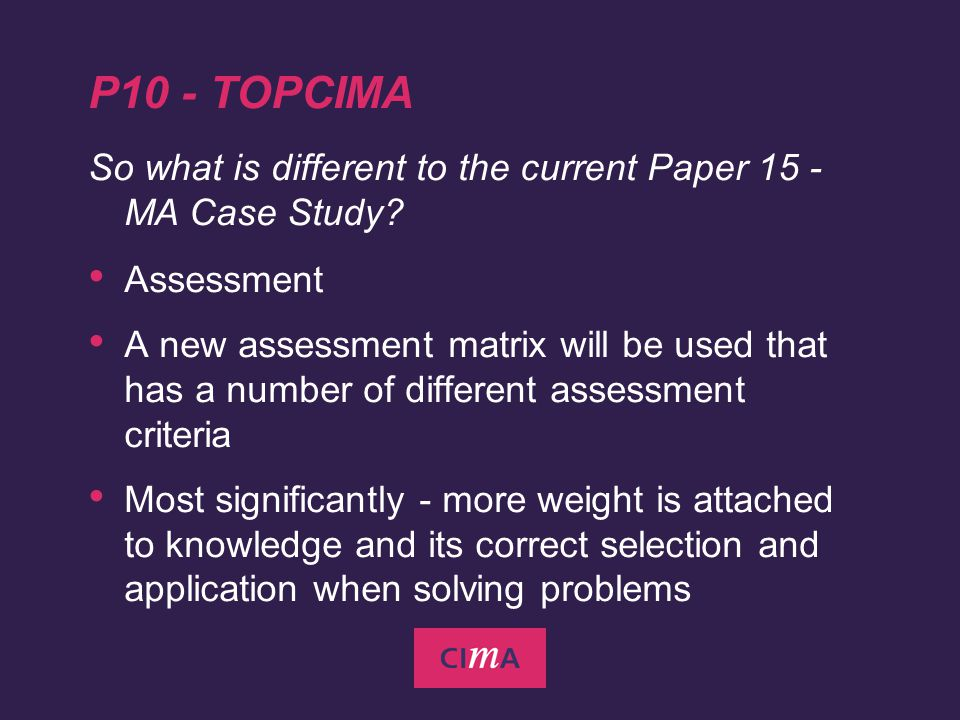 2  THE CIMA CHARTERED MANAGEMENT ACCOUNTING QUALIFICATION