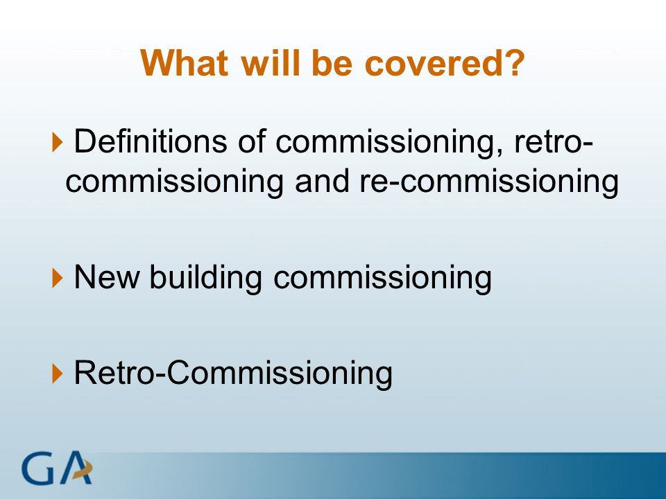 building commissioning definition