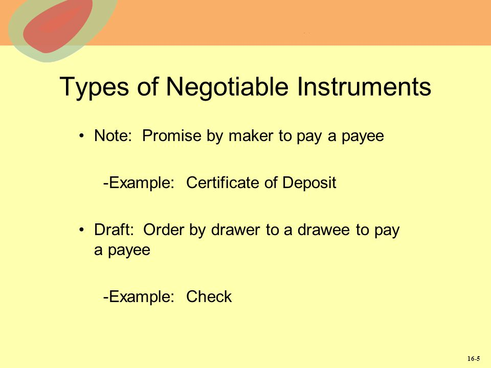 Negotiable Instruments Negotiability And Transferability Ppt Download