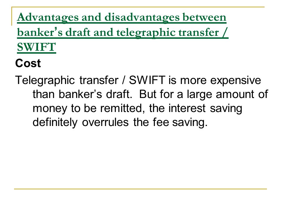 Money Transfer Lecture Objectives : To define money transfer - ppt