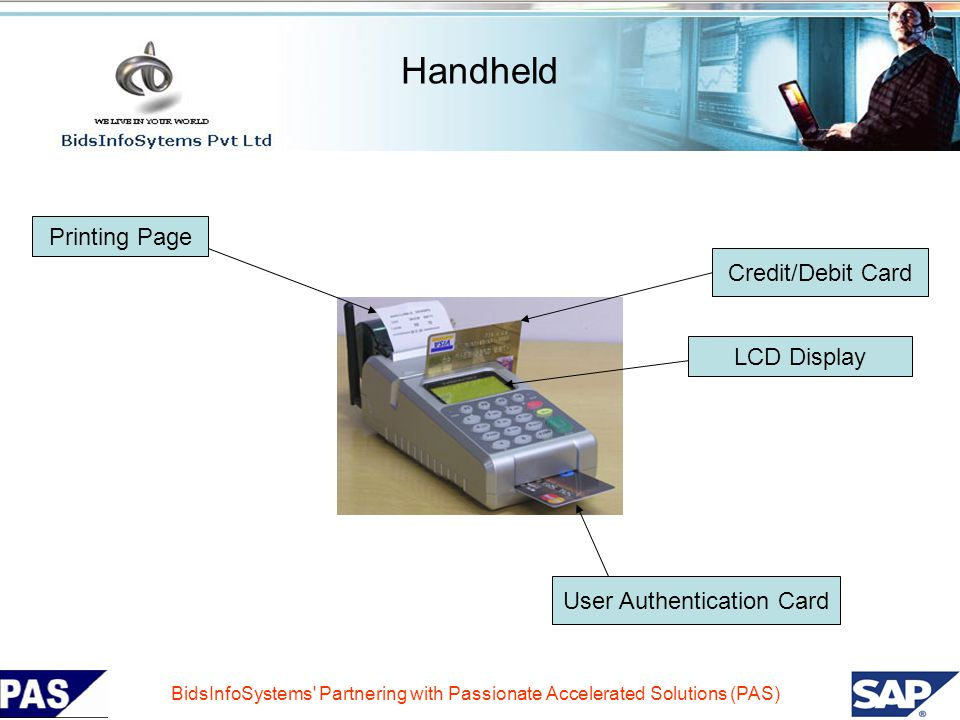 User Authentication Card