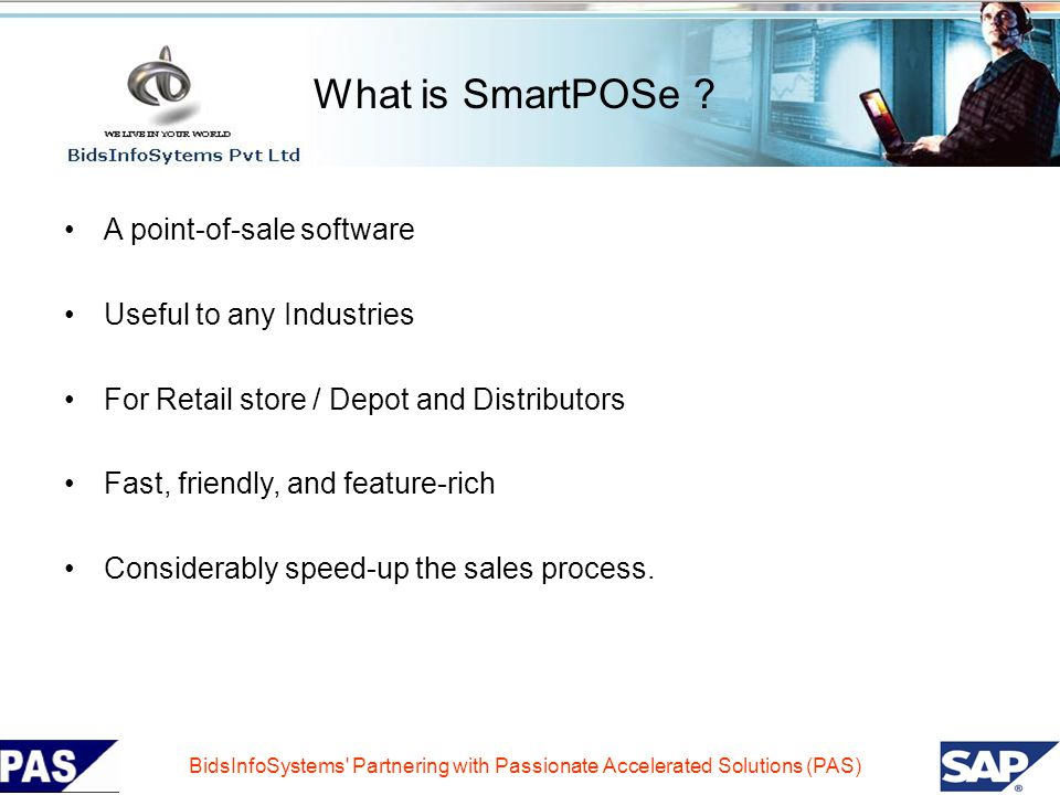 What is SmartPOSe A point-of-sale software Useful to any Industries