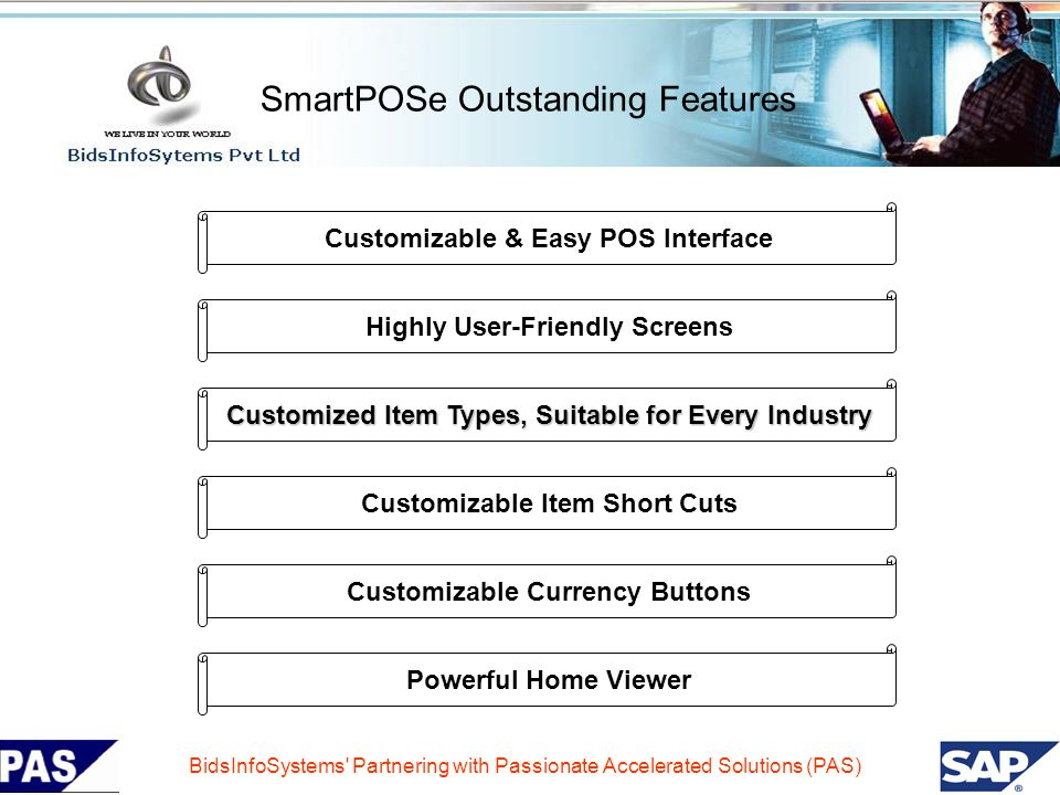 SmartPOSe Outstanding Features