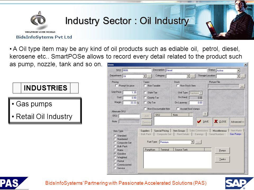 Industry Sector : Oil Industry