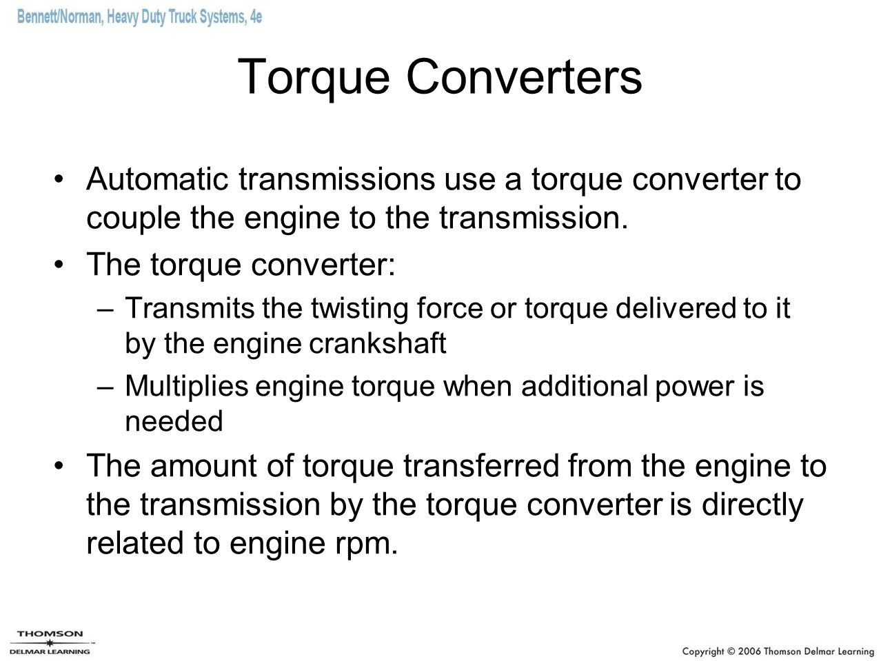 Chapter 17 Torque Converters Ppt Download