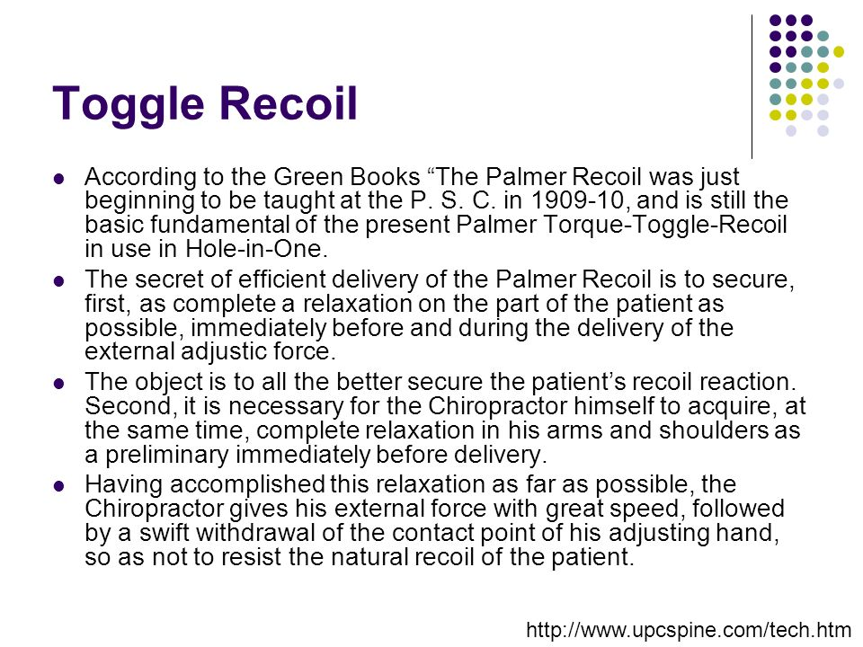 Toggle Recoil