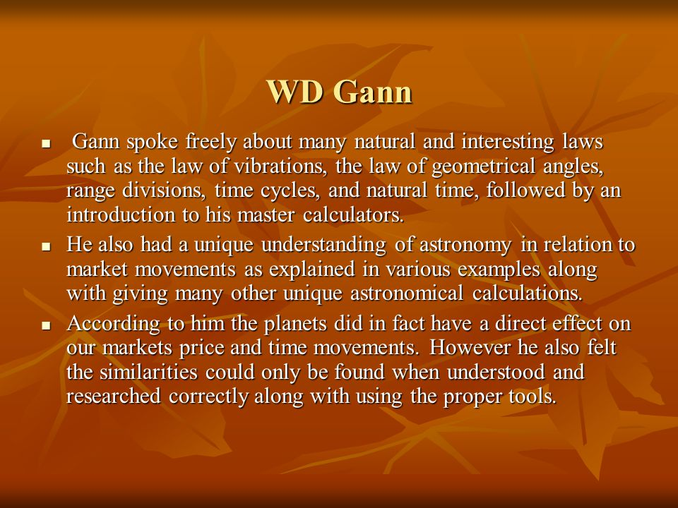 Introduction to the Gann Grids Ultra 5 0 Software! - ppt