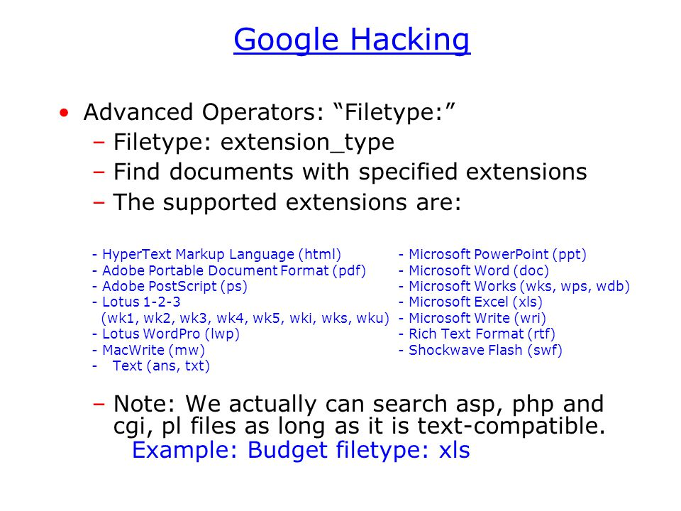 Google Search Using internet search engine as a tool to find