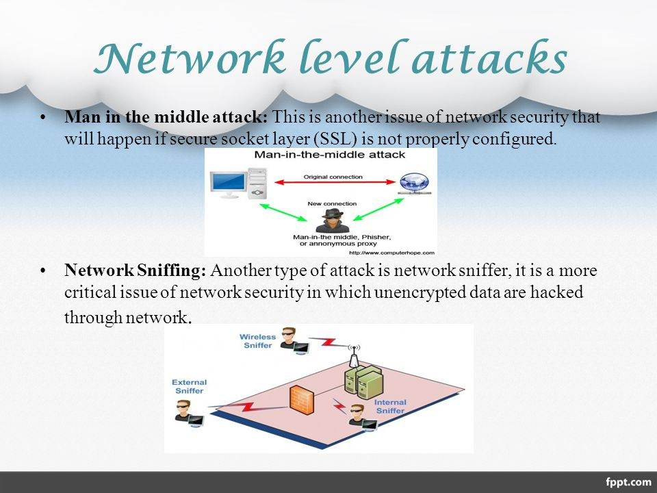 Network level attacks