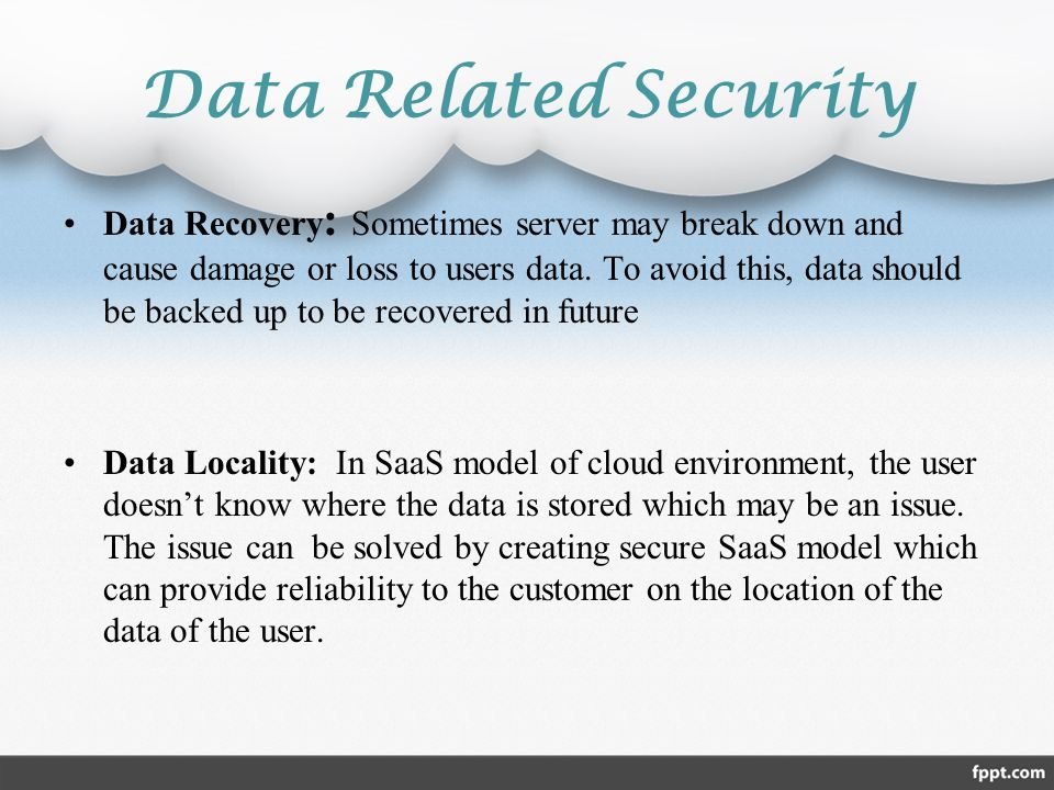 Data Related Security