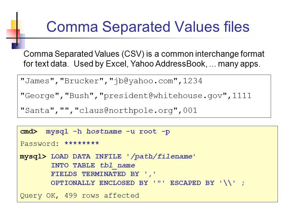Database Software James Brucker  - ppt video online download