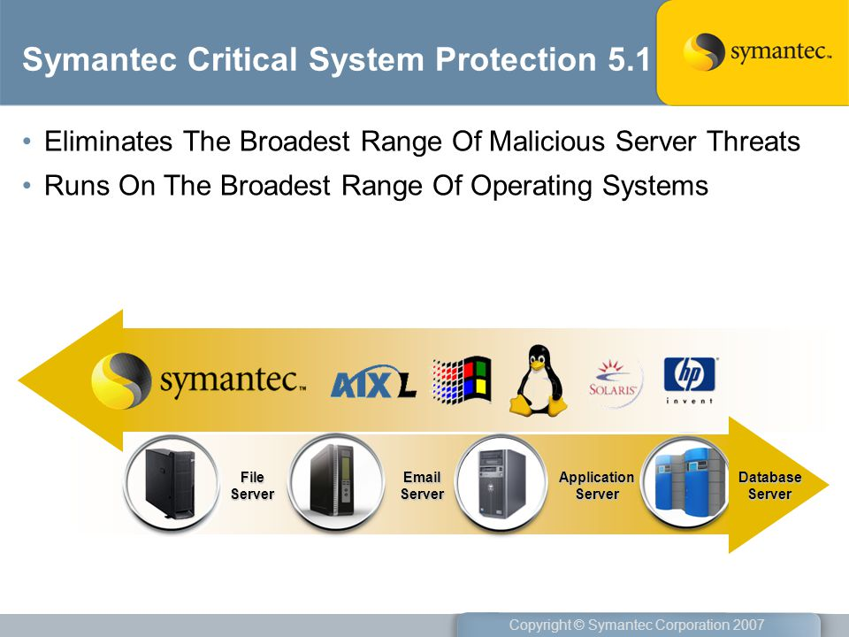 Symantec Critical System Protection 5.1