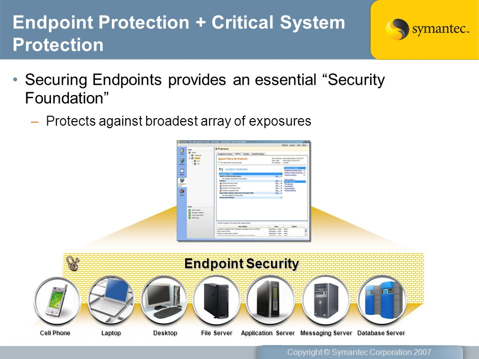 Endpoint Protection + Critical System Protection