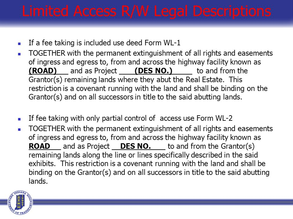 Right of Way Plan Development April 12th ppt download