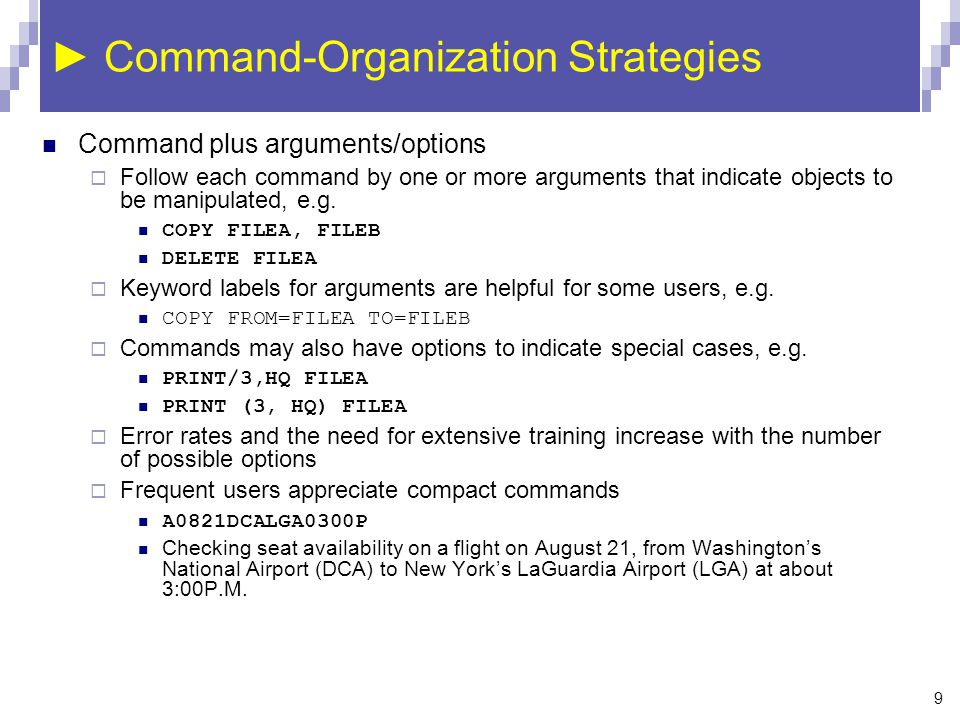 Command and Natural Languages - ppt video online download