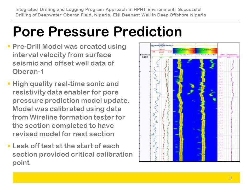 Pore Pressure Prediction