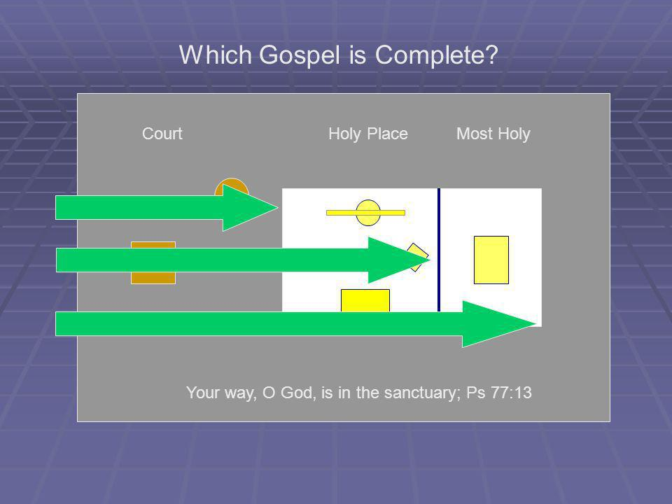 Which Gospel is Complete