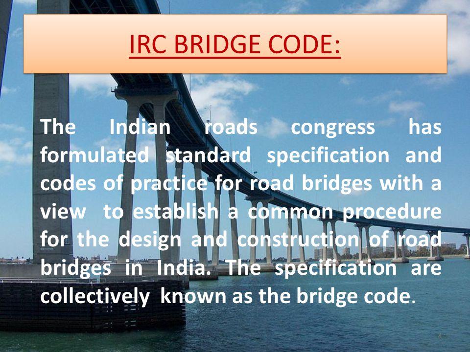 UNIT-I STANDARD SPECIFICATION FOR ROAD BRIDGE - ppt video