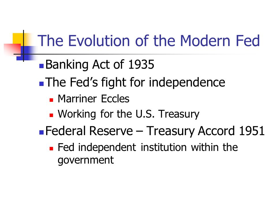 The Evolution of the Modern Fed