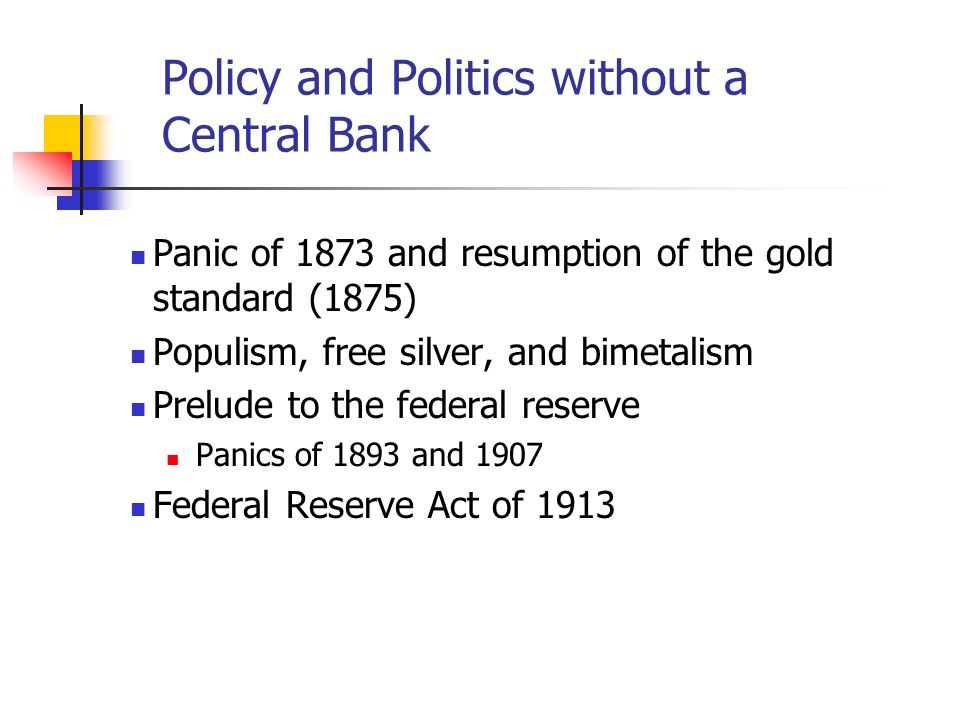 Policy and Politics without a Central Bank