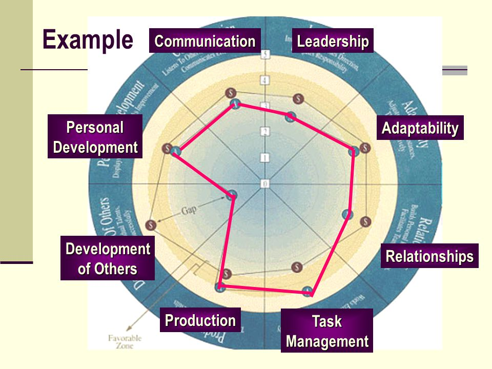 Example Communication Leadership Personal Development Adaptability