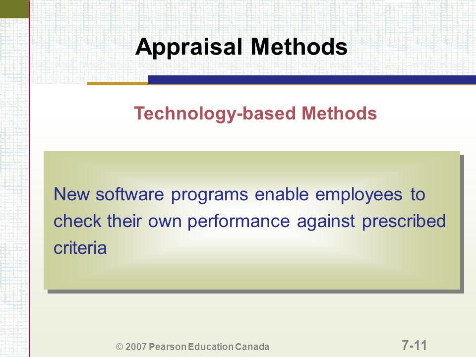 Technology-based Methods