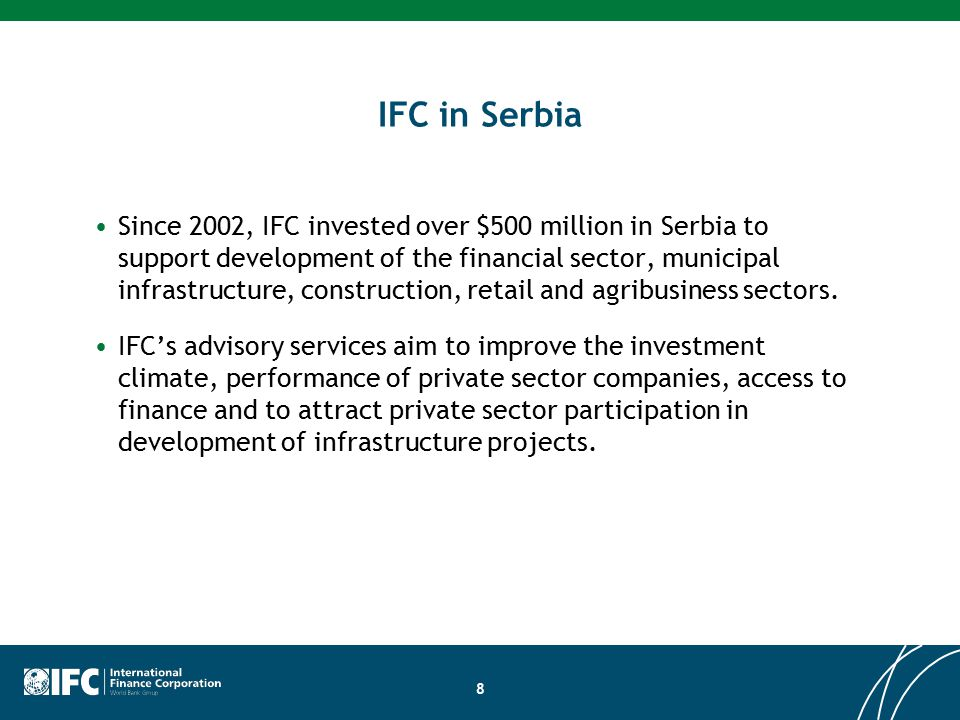 Ifc investment officer serbian twitter background forex