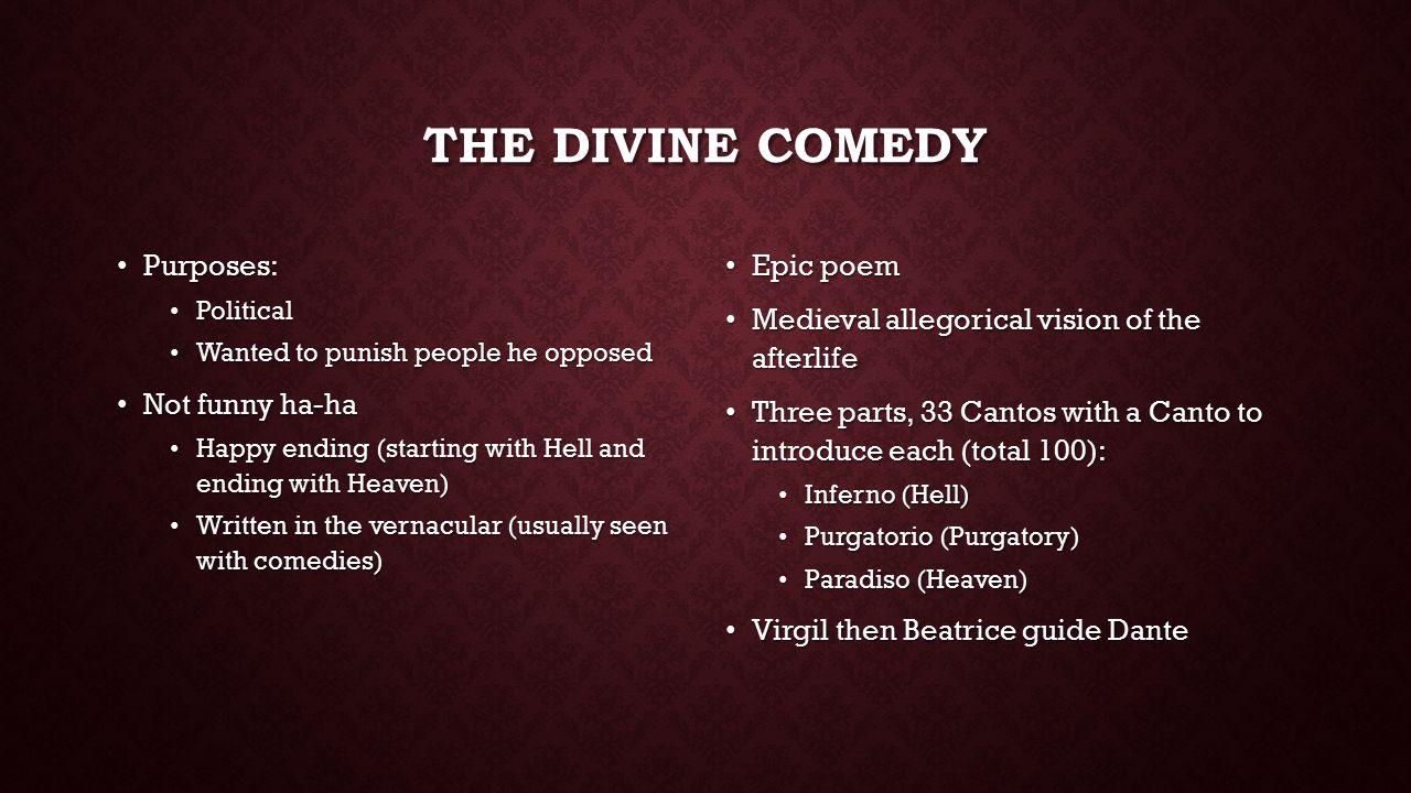 divine comedy poet
