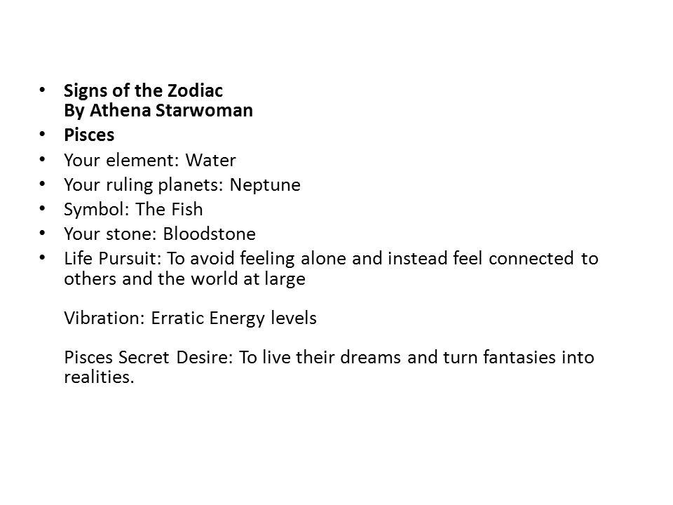 Horoscopes Pisces Ppt Download