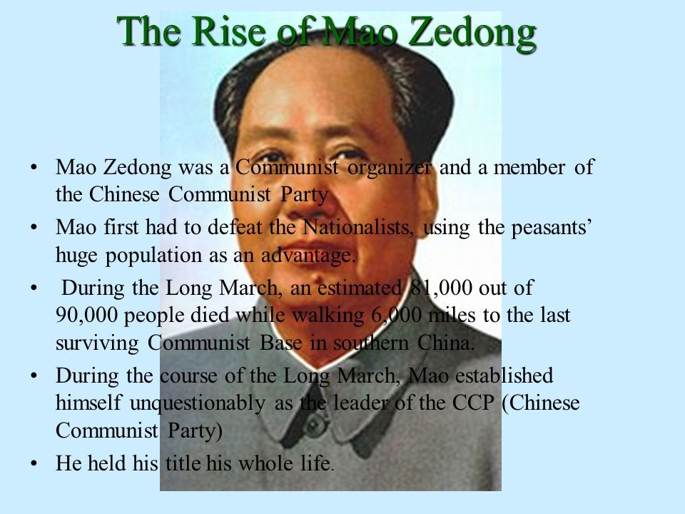 rise of mao An extract from people's century (1997) before mao zedong life was hard- i couldn't run to taiwan- chinese grandpa life stories - duration: 13:11 china non-stop 651 views.