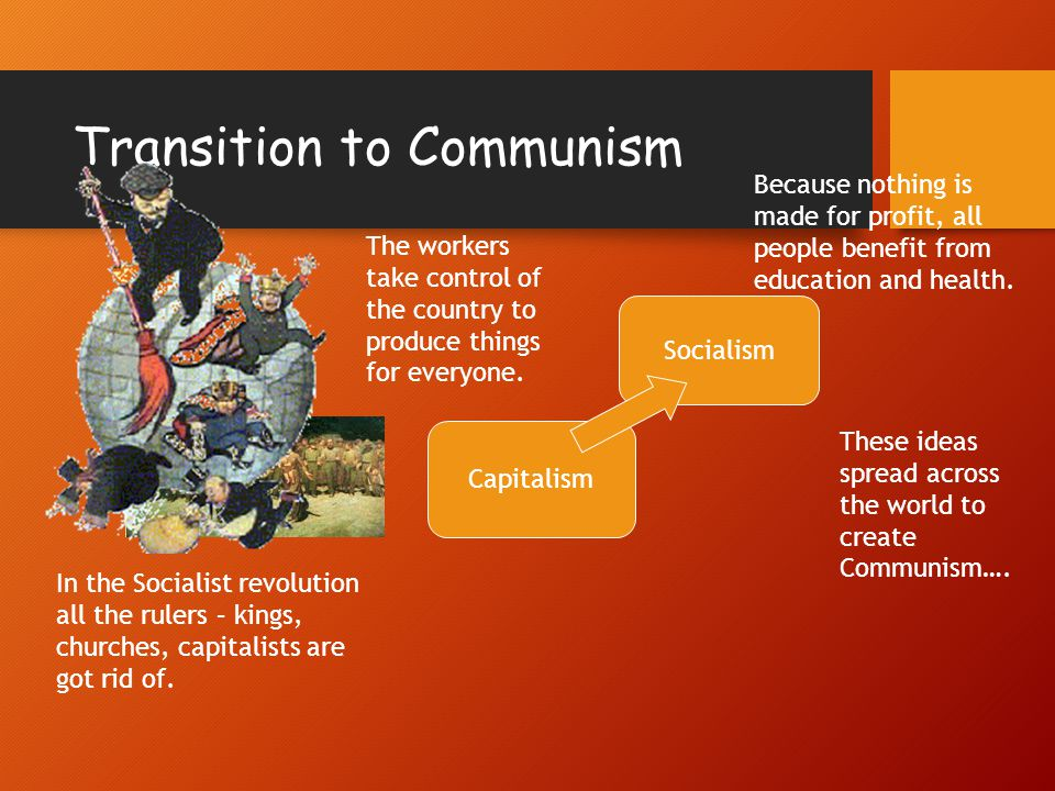 chinese transition from communist to capitalist society In 1978, deng xiaoping, a chinese revolutionary and veteran of the communist party, was eager to adopt capitalist methods and reforms in order to stimulate economic growth and restore confidence in the party.