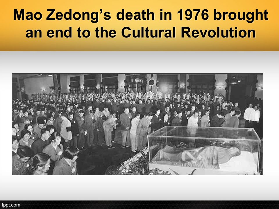 Image result for mao zedong died