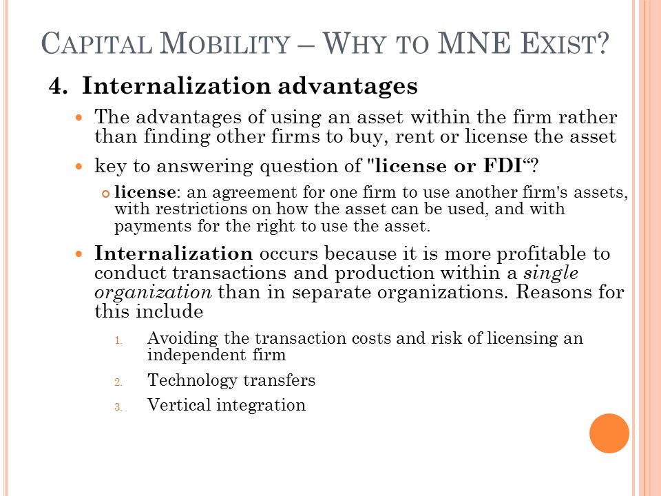 Labor And Capital Mobility Ch Ppt Download