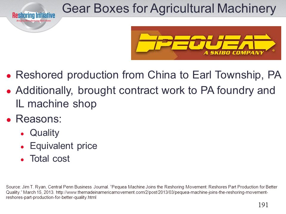 Gear Boxes for Agricultural Machinery