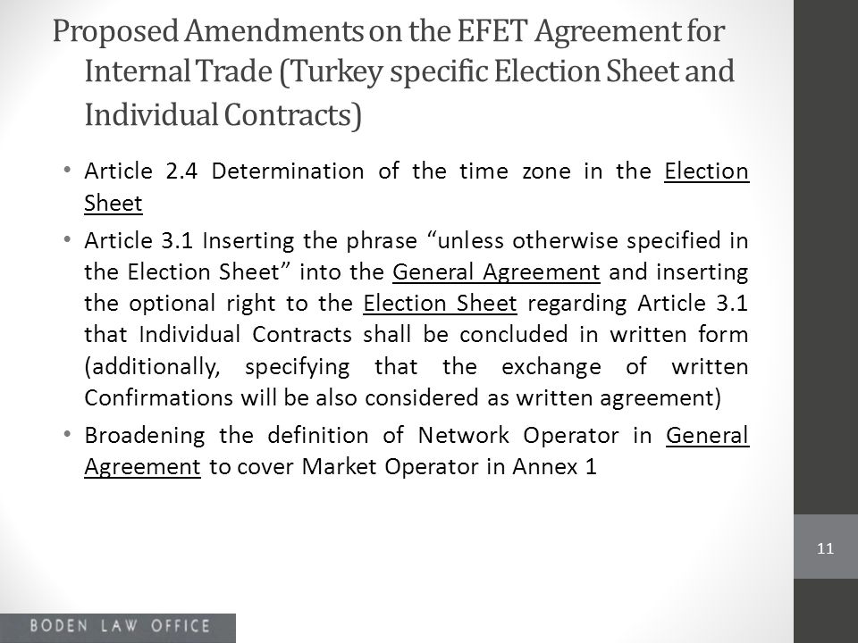 Discussions On The Efet General Agreement Electricity Ppt Video