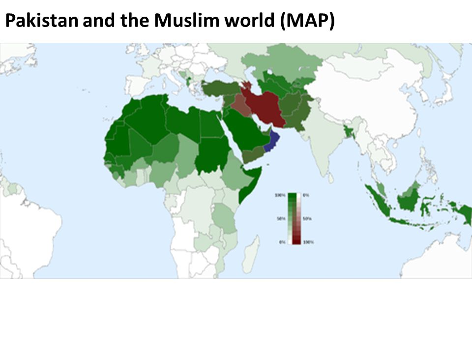 Lecture 24 pakistan and the muslim world i ppt video online download 3 pakistan and the muslim world map gumiabroncs Choice Image