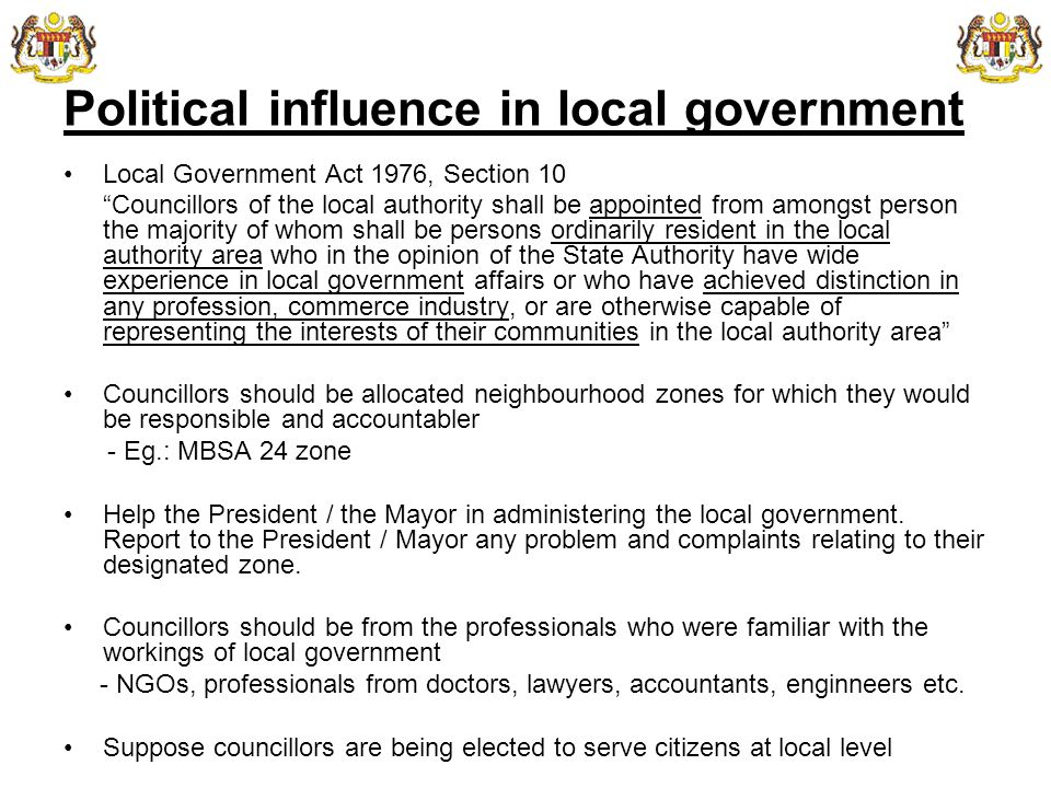 Local Government And Urban Governance Ema Ppt Download