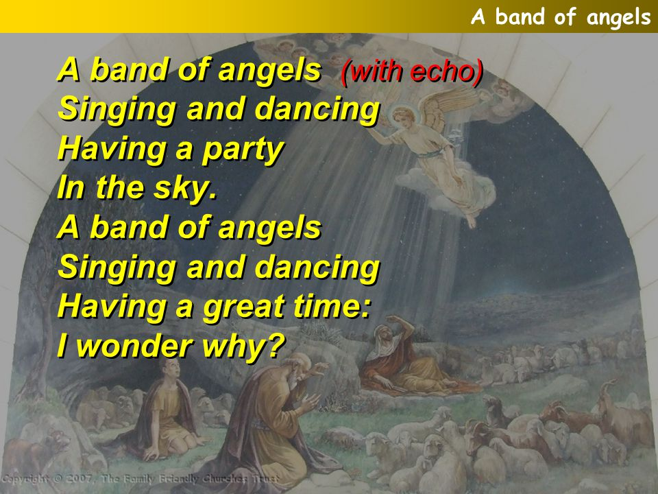 A band of angels  - ppt video online download