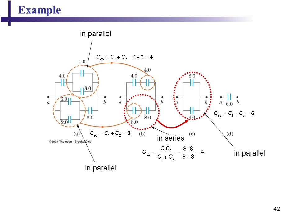 Example in parallel in series in parallel in parallel