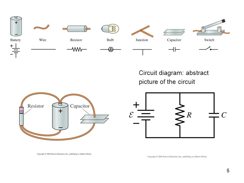 Circuit diagram: abstract picture of the circuit