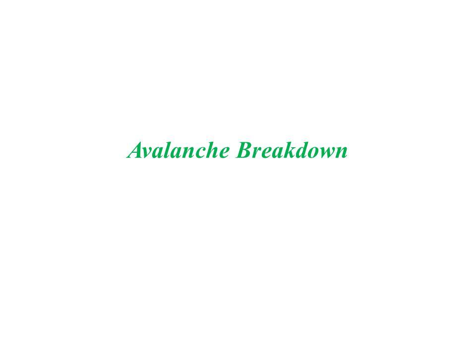 breakdown mechanism in pn junction diode pdf